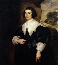 Portrait of Isabella van Assche | Anthony van Dyck | Oil Painting