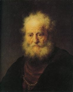 Bust of an Old Man | Dutch School th Century   Unknown | Oil Painting