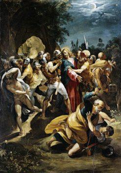 Christ Taken Prisoner | Giuseppe Cesari | Oil Painting