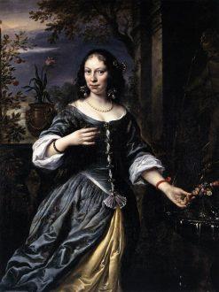 Portrait of Margaretha Tulp | Govaert Flinck | Oil Painting