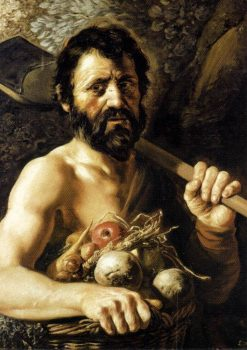 Four Elements and Ages of Man: Earth and Maturity | Jan Lievens | Oil Painting