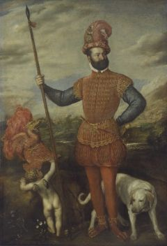 Man in Armour (Bildnis eines Feldherrn) | Titian | Oil Painting