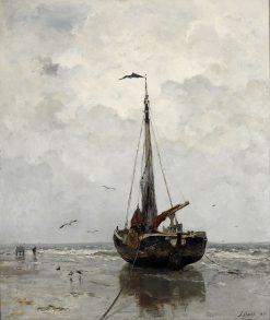 Fishing Boat | Jacob Maris | Oil Painting