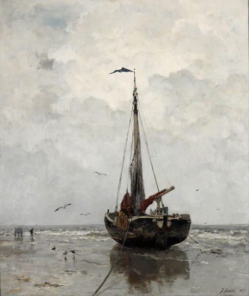 Fishing Boat | Jacob Maris | Oil Painting