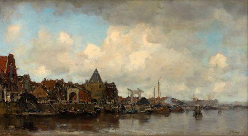 The Schreierstoren | Jacob Maris | Oil Painting