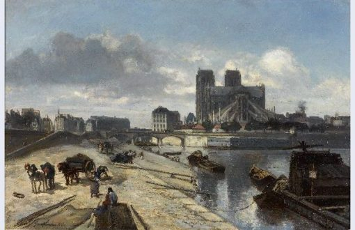 Chevet of Notre Dame and the Pont de la Tournelle