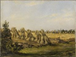 Haystacks | Piet Mondriaan | Oil Painting