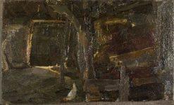 Stalinterieur | Piet Mondriaan | Oil Painting