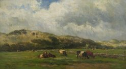 Cows at Bloemendaal | Willem Roelofs | Oil Painting