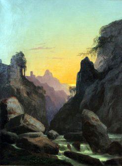 Schönau near Teplitz | Carl Gustav Carus | Oil Painting