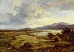 Inntal near Neubeuern | Carl Rottmann | Oil Painting
