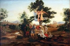 The Count of Habsburg | Johann Heinrich Ferdinand Olivier | Oil Painting