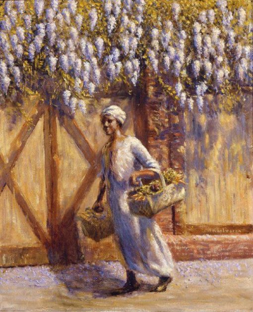 A Vendor | Edwin Harleston | Oil Painting