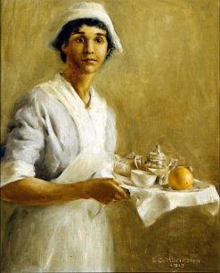The Nurse | Edwin Harleston | Oil Painting
