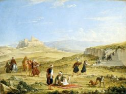 The Acropolis and Areopagus | Franz Ludwig Catel | Oil Painting