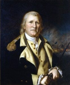 General William Moultrie | Rembrandt Peale | Oil Painting