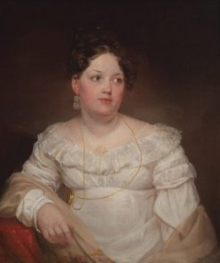 Mrs. Francis Dallas Quash (Emma Doughty) | Samuel Morse | Oil Painting