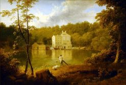Gilpin's Mill on the Brandywine | Thomas Doughty | Oil Painting