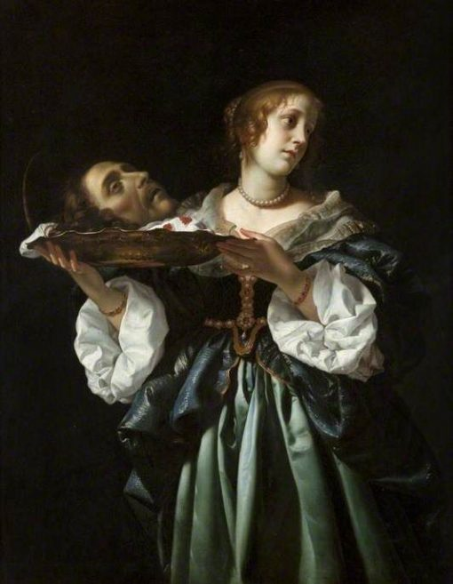 Salome   Carlo Dolci   Oil Painting