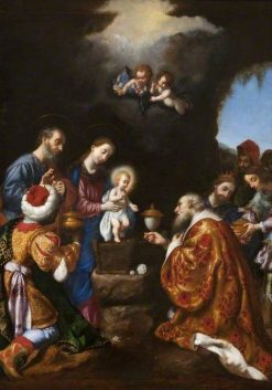 The Adoration of the Magi | Carlo Dolci | Oil Painting