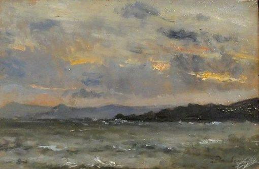 Seascape | Charles Francois Daubigny | Oil Painting