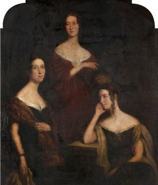 The Daughters of Colin Campbell of Jura | Colvin Smith | Oil Painting