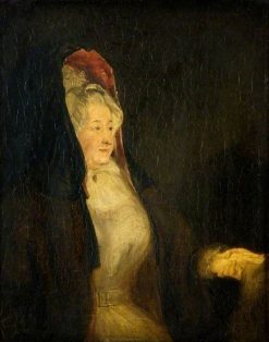 Portrait of a Lady | David Wilkie | Oil Painting