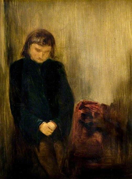 Valentine   Edward Lear   Oil Painting