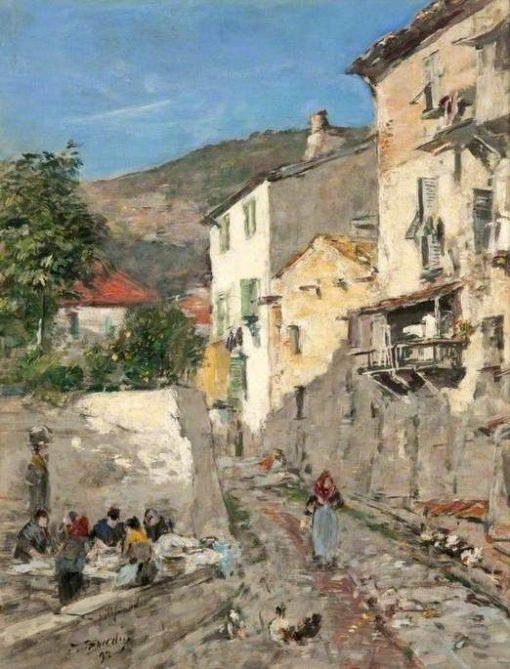 Villefranche | Eugene Louis Boudin | Oil Painting