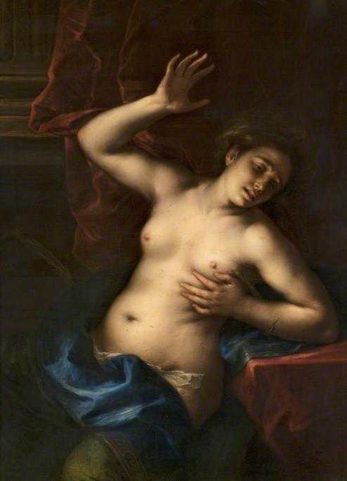 The Death of Cleopatra | Francesco Cairo | Oil Painting