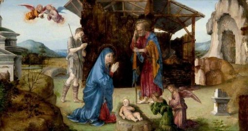 The Nativity of Christ | Francesco Francia | Oil Painting