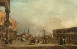 Venice: The Piazzetta di San Marco | Francesco Guardi | Oil Painting