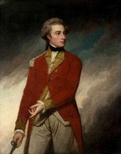 Lieutenant Colonel Sir Charles Stuart (1753-1801) | George Romney | Oil Painting