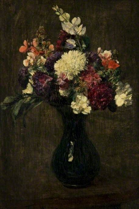 A Mixed Bunch | Henri Fantin Latour | Oil Painting