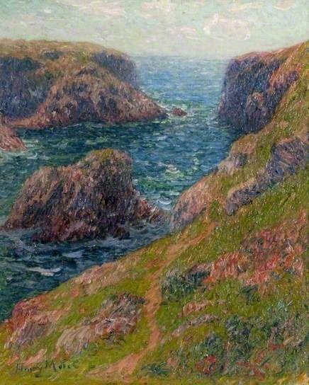 Cliffs at Port-Domois