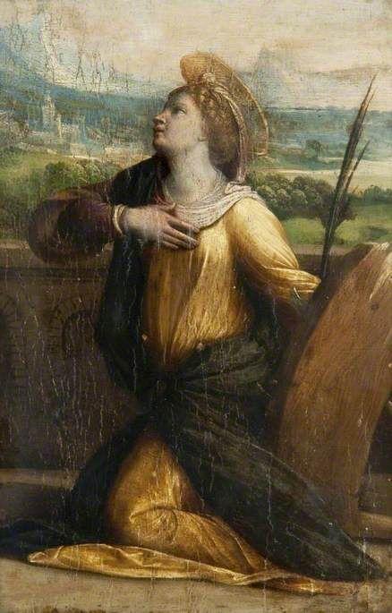 Saint Catherine of Alexandria   Il Garofalo   Oil Painting