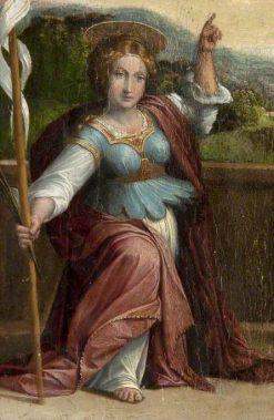 Saint Ursula | Il Garofalo | Oil Painting
