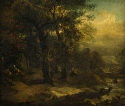 Woodland Scene   James Stark   Oil Painting