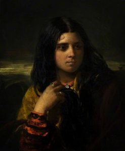 A Gypsy Girl   John Phillip   Oil Painting