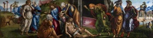 Lamentation over the Dead Christ | Luca Signorelli | Oil Painting