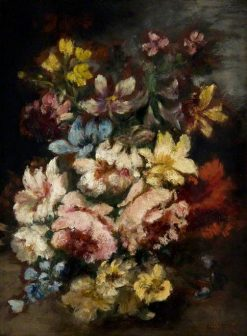 Flower Piece | Narcisse Dìaz de la Peña | Oil Painting