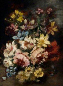 Flower Piece | Narcisse Dìaz de la Peña | Oil Painting