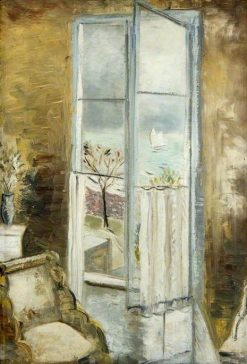 Through a Window in the Riviera | Paul Nash | Oil Painting