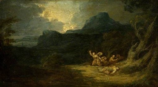 Landscape with Figures | Richard Wilson