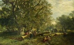 Cadzow Forest | Samuel Bough | Oil Painting
