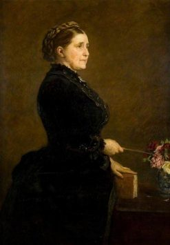 Mrs Isabella Elder (1828-1905) | Sir John Everett Millais | Oil Painting