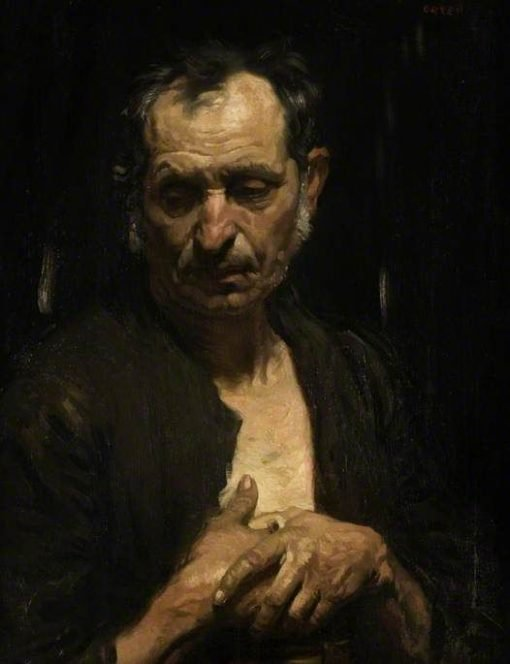 A Saint of the Poor | Sir William Orpen | Oil Painting