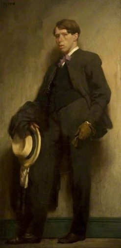The Artist as a Young Man | Sir William Orpen | Oil Painting