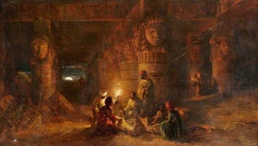 The Treasure Finders | William James Muller | Oil Painting