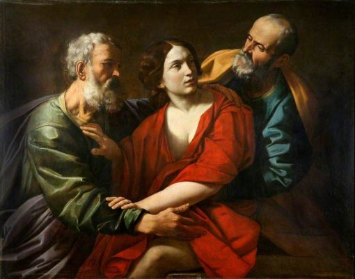 Susanna and the Elders | Guido Reni | Oil Painting